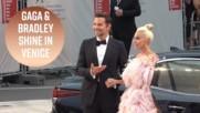 Лейди Гага и Брадли Купър са най-сладката двойка във Венеция