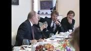 Путин и Шевчук - Пълна версия (с Превод)