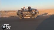 Араби сменят гума в стил