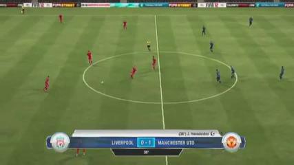 Fifa 12 Ливърпул - Манчестър Юнайтед (целия мач) {hq}