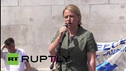 UK: 'Oxi, oxi, oxi!' Protesters hold rally in solidarity with Greek 'no' voters