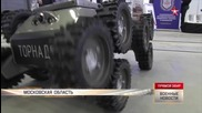 Русия извади на показ бойните си роботи!
