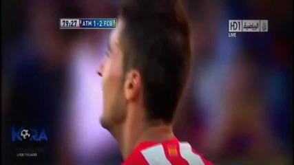 Шампионът с победа ! Барселона - Атлетико Мадрид 2:1