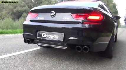 G.power Bmw M6 Gran Coupe реве