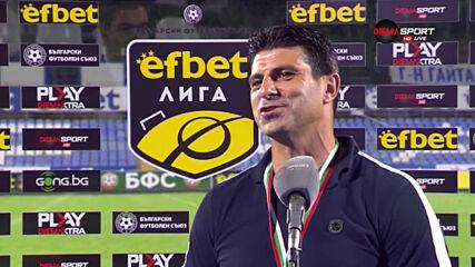 Георги Иванов-Гонзо: Оставам в Локомотив, имам още работа