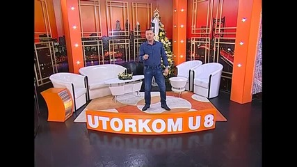 Bata Zdravkovic - Treba mi jedna noc - Utorkom u 8 - (TvDmSat 2015)