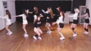 Pristin - Wee Woo Dance Practice Mirrored