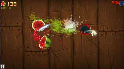Fruit Ninja Gameplay