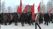 Russia: Veterans gather for 73rd anniversary of the Siege of Leningrad