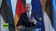 "Germany: Estonian President accuses Russia of ""nasty"" and ""nuclear"" rhetoric"
