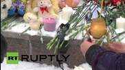 Russia: Yekaterinburg mourners lay tributes for flight 7K9268 victims