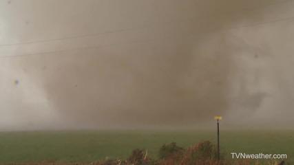 Торнадо в Типтън, Оклахома 7.11.2011