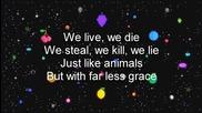 Marina And The Diamonds - Savages 'lyrics'