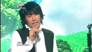 (hd) Kim Jang Hoon - A shiny day (comeback stage) ~ Music Bank (15.06.2012)