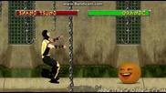 Досадния портокал срещу Mortal Combat