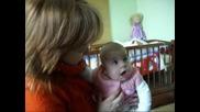Йоанка на 4 месеца и 9 дни (03.03.2009г.) - 2