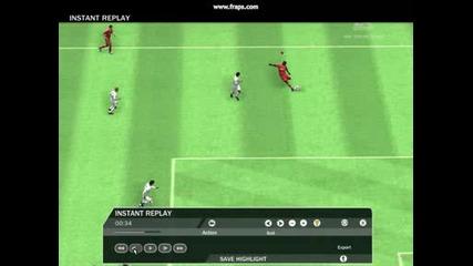 Fernand0* Goal vs Manafchester United - Fifa 09