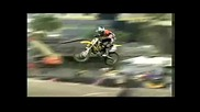 Horrible crash of Jeremy Lusk and other terrible freestyle motocross accidents.