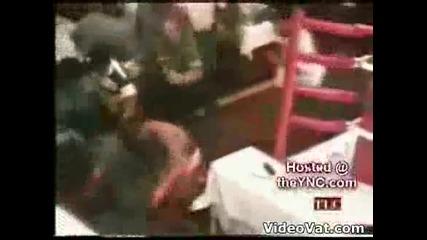 Меле в боксов мач