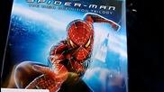 Дивашката трилогия Спайдър - Мен (2002-2004-2007) на Blu - Ray