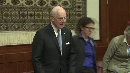 Switzerland: UN talks with Syrian govt delegation kick-off in Geneva