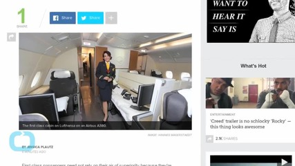 Even The Air is Better in First Class on This Airline