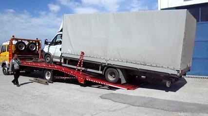Пътна помощ за Iveco Daily с 4,5т товар до сервиза за ремонт 01.04.2015