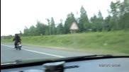 Мечка на мотор в Русия - Много смях