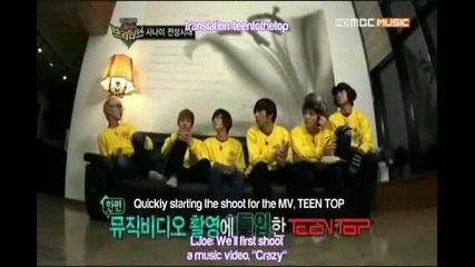 (eng sub) Crazy Mv making by Teen Top - Brothers Outing Ep9