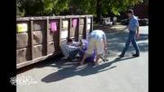 break - возене с пазарска количка