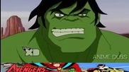 Отмъстителите: Най-могъщите герои на Земята / Хълк срещу Абсорбиращият Човек