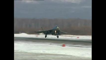 руски стелт изтребител - t 50 -