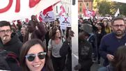 Italy: Thousands of anti-racism protesters march against Salvini in Rome
