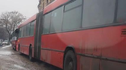 Снегът във Варна отново изненада снегопочистващите фирми