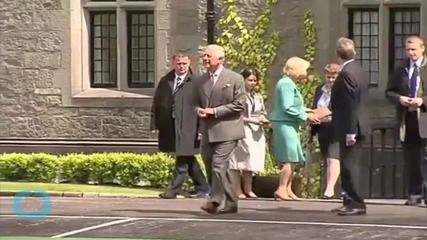 Prince Charles Visits Belfast Church at Centre of Marching Season Dispute