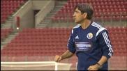 Разширен видео репортаж от Гърция - Румъния 0:1
