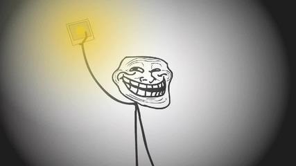 Troll Physics Infinite Light Source