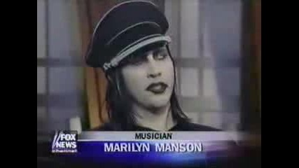 Marilyn Manson on the OReilly Factor