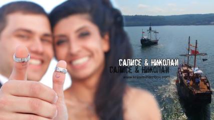 Сватба с пиратски кораби. Видеозаснемане Красимир Ламбов