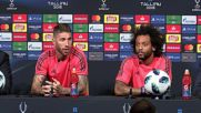 Estonia: Real Madrid's Ramos tells Liverpool coach 'mind own business'