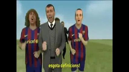Голяма Ебавка с Отбора на Барселона и Най Вече Лео Меси Смях