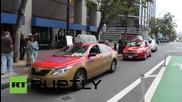 Такситата в САЩ искат от кметовете регулации за UBER