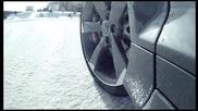 Audi Rs3 Леко шоу в снега