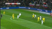 Словения - Украйна 1:0 /първо полувреме/