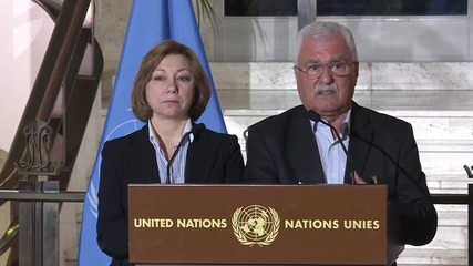 Switzerland: Syrian opposition leaders comment on de Mistura meeting