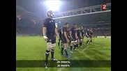 New Zealand Vs France - The Haka