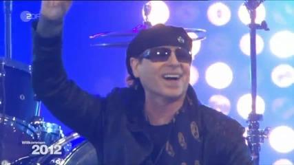 Scorpions - Tainted Love - Berlin 2012 - Zdf Tv Live