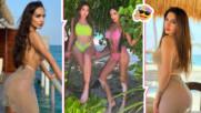 Лияна и дъщеря ѝ - на Малдивите! Феновете им се чудят: Коя е майката, коя е дъщерята?