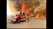 Извънредно положение в част от Калифорния заради горски пожар
