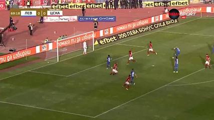 Тиаго срази конкурентите в полузащита в 35-ия кръг в Първа лига